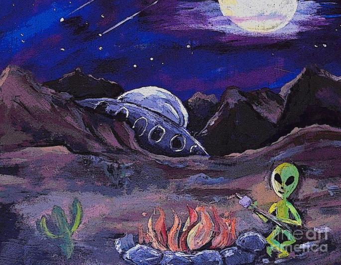 the-campfire-alien-valarie-pacheco